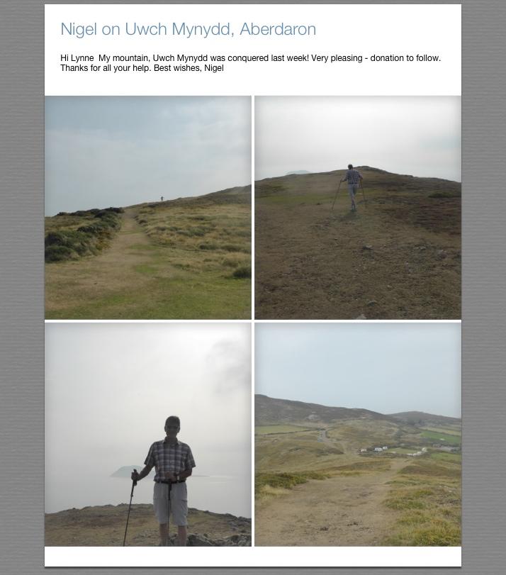 Nigels mountain climb
